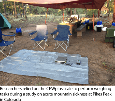 CPWplus Scale on Tarp