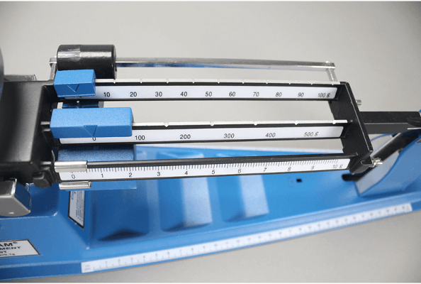 Taring the TBB Triple Beam Balance
